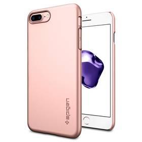 Spigen Thin Fit pro Apple iPhone 7 Plus (HOUAPIP7PSPRG) růžový