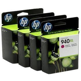 Inkoustová náplň HP No. 940XL, 1400 stran, CMYK (C2N93AE)