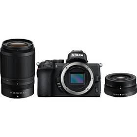 Nikon Z50 + 16-50 VR + 50-250 VR (VOA050K002) černý