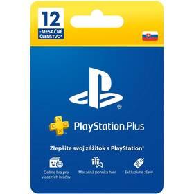 Sony PlayStation Plus Card 365 dní - pouze pro SK PS Store (PS719800552)