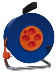 EMOS 4x zásuvka, 50m (DG-4ZR-F04) oranžový