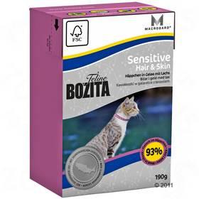 Bozita Feline Hair & Skin - Sensitive TP 190 g