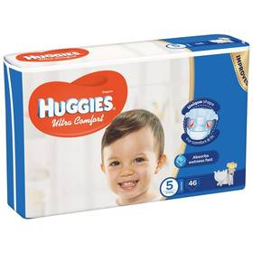 Huggies Ultra Comfort Jumbo vel. 5, 12-22kg, 46ks