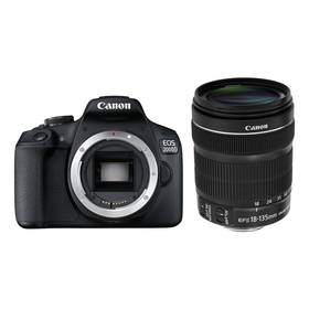 Canon EOS 2000D + 18-135 IS STM (2728C016AA) černý + Doprava zdarma