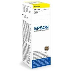 Epson T6734, 70ml - originální (C13T67344A) žlutá