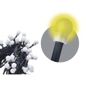 EMOS 80 LED, kulička, 8m, řetěz, teplá bílá, časovač,  i venkovní použití (1534090025) (rozbalené zboží 8800843781)