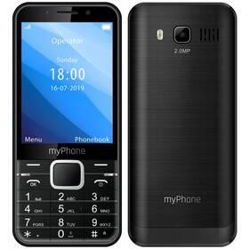 myPhone Up (TELMYUPBK) černý (vrácené zboží 8800999155)