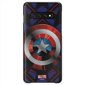 Kryt na mobil Samsung Captain America pro Galaxy S10 (GP-G973HIFGKWC) černý