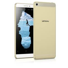"""Lenovo PHAB Plus 6,8"""" 32GB - Gold (ZA070026CZ) zlatý SIM s kreditem T-mobile 200Kč Twist Online Internet (zdarma)+ Voucher na skin Skinzone pro Mobil CZ v hodnotě 399 Kč jako dárek + Doprava zdarma"""