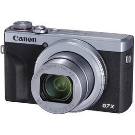 Canon PowerShot G7X Mark III strieborný