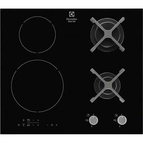 Kombinovaná varná deska Electrolux EGD6576NOK černá/sklo