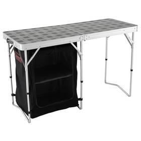 Kempingový stůl Coleman Table & Storage s úložnými prostory 119 x 48 cm + Doprava zdarma