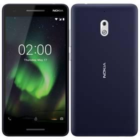 Nokia 2.1 Dual SIM (11E2MX01A08) stříbrný/modrý