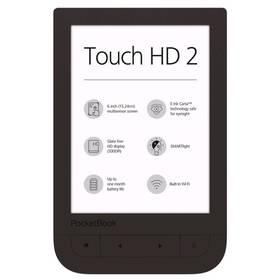 Čtečka e-knih Pocket Book 631+ Touch HD 2 (PB631-2-X-WW ) hnědá