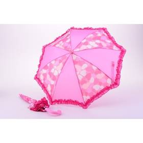 Dětský deštník Alltoys vystřelovací - růžová