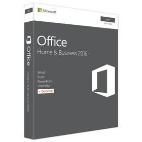 Microsoft Office Mac 2016 pro domácn. a podnikatele Eng (W6F-00952)