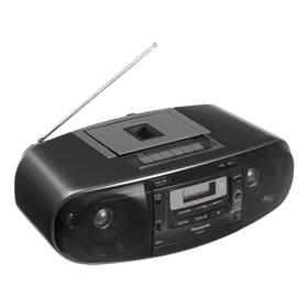 Panasonic RX-D55AEG-K černý + Doprava zdarma