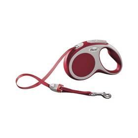 Vodítko Flexi VARIO S Pásek 5m/15kg červené
