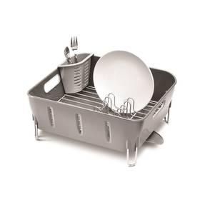 Simplehuman Compact (KT1106) stříbrný/šedý (poškozený obal 8800121724)