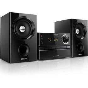 Philips MCM1350 černý Sluchátka Philips SHE3590WT do uší (zdarma)