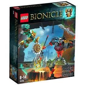 Stavebnica Lego® Bionicle 70795 Vládce Masek vs. Lebkoun Brusič