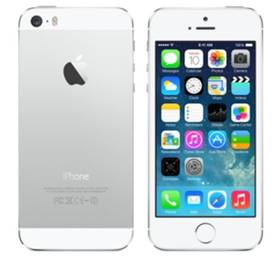 Apple iPhone 5S 16GB (ME433CS/A) stříbrný