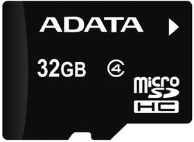ADATA microSDHC karta 32GB Class 4 + USB čtečka v3 (AUSDH32GUICL10-ROTGMBK)