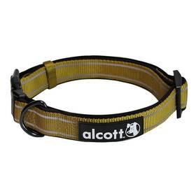 Obojok Alcott reflexní L 45-66cm zelený