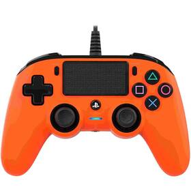 Nacon Wired Compact Controller pro PS4 (ps4hwnaconwccorange) oranžový