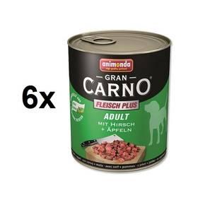 Animonda Adult Gran Carno jelení maso + jablka 6 x 800g