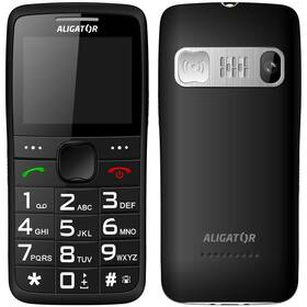 Aligator A675 Senior (A675BK) černý