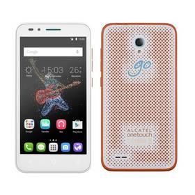 ALCATEL ONETOUCH GO PLAY 7048X (7048X-2CALE17) bílý/oranžový Paměťová karta Leef 16GB microSDHC (Class 10) (zdarma)+ Software F-Secure SAFE 6 měsíců pro 3 zařízení v hodnotě 999 Kč jako dárek+ Voucher na skin Skinzone pro Mobil CZ v hodnotě 399 Kč jako dá