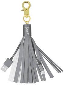 Beeyo MicroUSB, 7 cm, přívěšek (DATMICROBEEPRSI) stříbrný