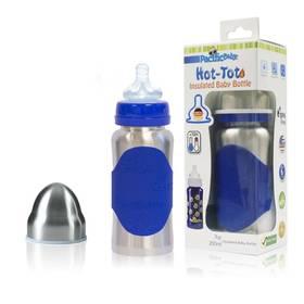 Pacific Baby Hot-Tot 200ml stříbrná/modrá + Doprava zdarma