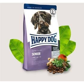 HAPPY DOG Senior 12,5 kg Konzerva HAPPY DOG Wild Pur - 100% maso zvěřiny 200 g (zdarma) + Doprava zdarma