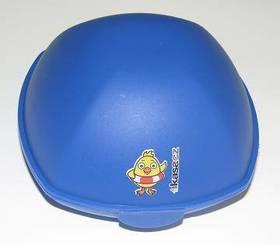 Svačinový box KUŘE modrý