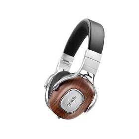 Denon Music Maniac AH-MM400 (AHMM400 ) černá/dřevo + Doprava zdarma