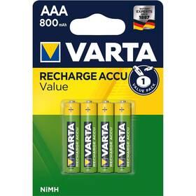 Varta Value, HR03, AAA, 800mAh, Ni-MH, blistr 4ks (56613101404)
