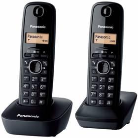 Panasonic KX-TG1612FXH (KX-TG1612FXH) šedý + Doprava zdarma
