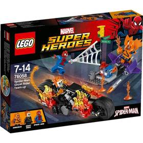 Lego® Super Heroes Spiderman 76058 Ghost Rider vstupuje do týmu