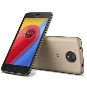 Motorola Moto C Dual SIM (PA6L0092CZ) zlatý SIM s kreditem T-Mobile 200Kč Twist Online Internet (zdarma) + Doprava zdarma