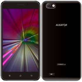 Aligator S5066 (AS5066BK) černý SIM s kreditem T-Mobile 200Kč Twist Online Internet (zdarma)Software F-Secure SAFE, 3 zařízení / 6 měsíců (zdarma)