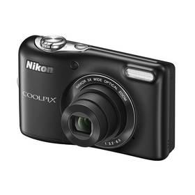 Digitální fotoaparát Nikon Coolpix L30 černý
