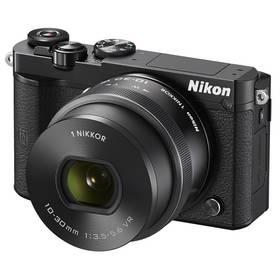 Nikon 1 J5 + 10-30mm černý + Doprava zdarma