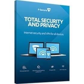 F-Secure TOTAL, 3 zařízení / 1 rok (FCFTBR1N003G1) + Doprava zdarma