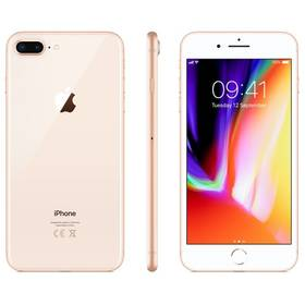 Apple iPhone 8 Plus 256 GB - Gold (MQ8R2CN/A) + Doprava zdarma