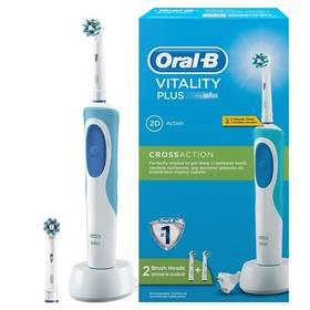 Oral-B Vitality Plus Cross action bílý + Doprava zdarma