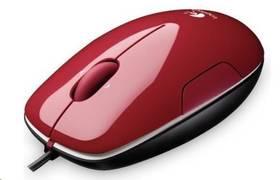 Logitech M150 Cinammon (910-003751) červená