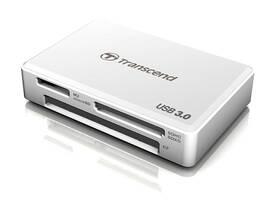 Transcend RDF8 USB 3.0 (TS-RDF8W) bílá