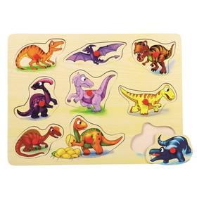 Bino dřevěné Dinosauři